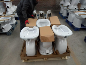 Hot sales, factory toilet , bathroom toilet shipping to UK market