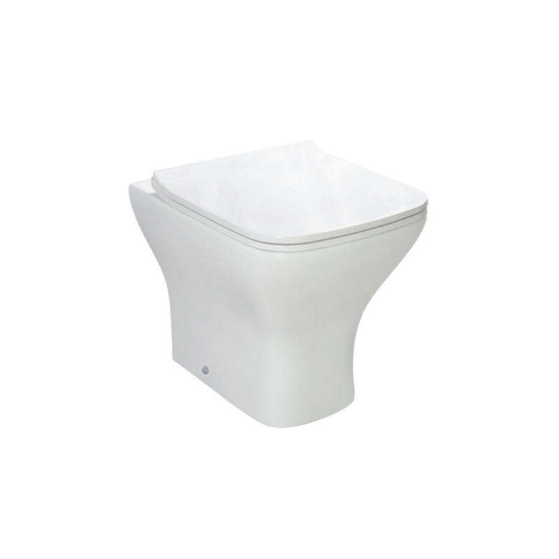 Square design bathroom toilet Back To Wall Toilet--BTW301